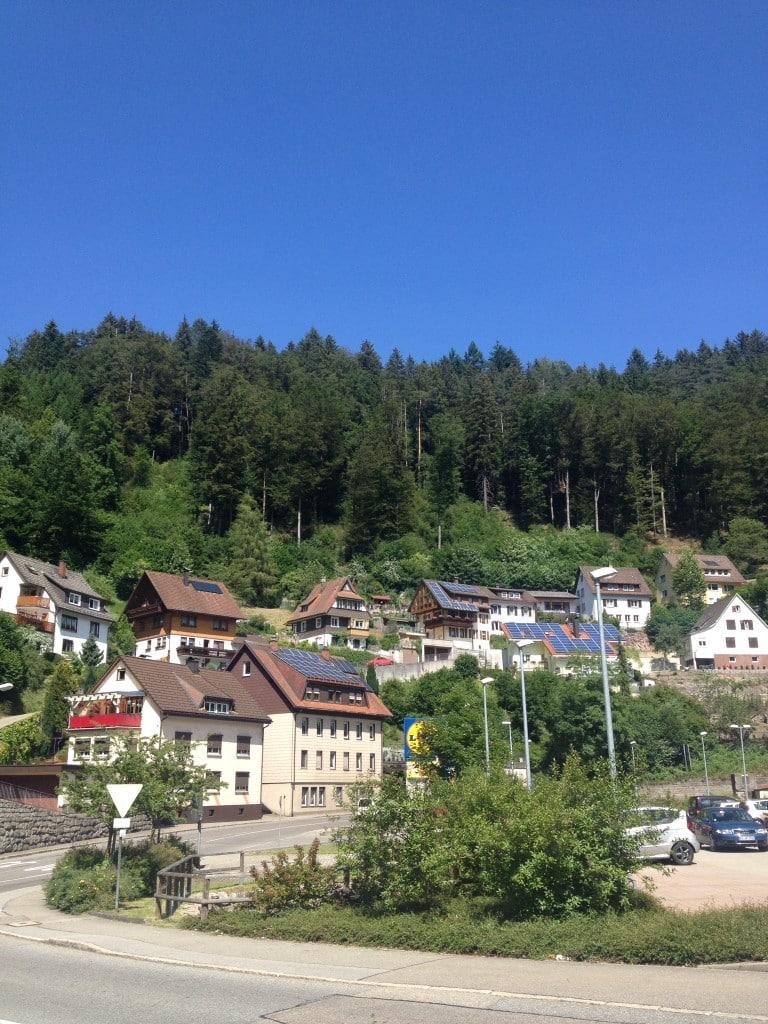 Wieder in Triberg