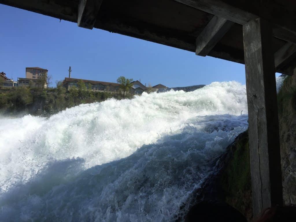 Der Wasserfall zu Greifen nahe